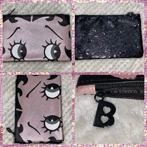 ✅NWT✅Betty BoopX ipsy makeup bag